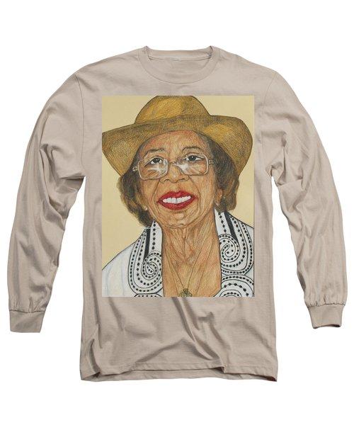 Della Willis Portrait Long Sleeve T-Shirt