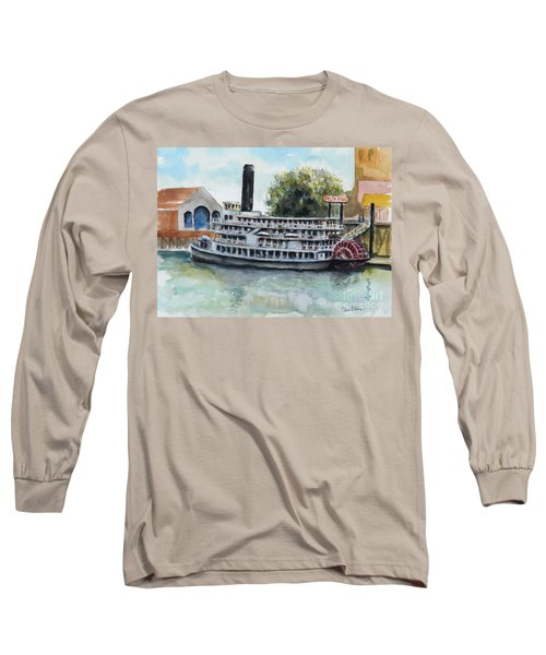 Delta King Long Sleeve T-Shirt by William Reed