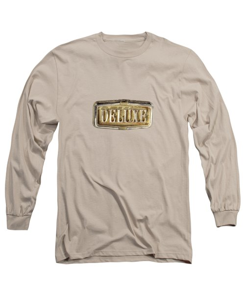 Deluxe Chrome Emblem Long Sleeve T-Shirt by YoPedro