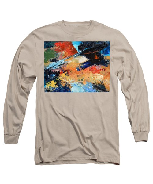 Long Sleeve T-Shirt featuring the painting Demo Sketch by Gary Coleman