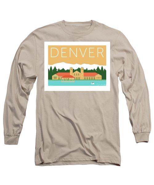Denver City Park/adobe Long Sleeve T-Shirt