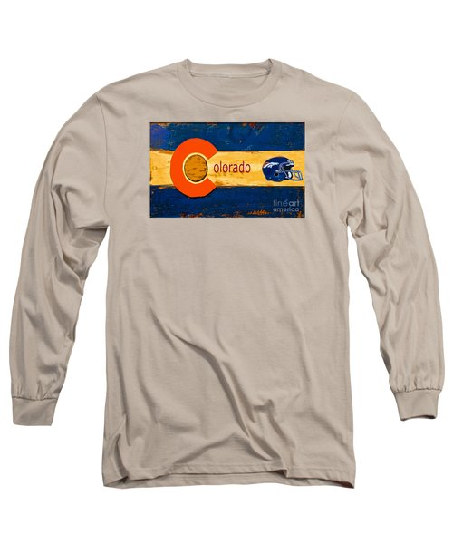 Denver Colorado Broncos 1 Long Sleeve T-Shirt