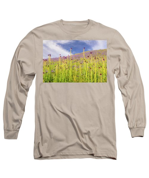 Desert Candles At Carrizo Plain Long Sleeve T-Shirt