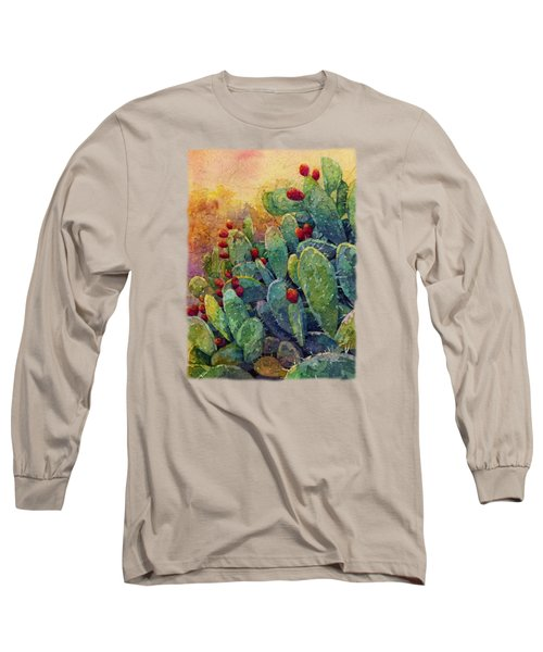 Desert Gems 2 Long Sleeve T-Shirt by Hailey E Herrera