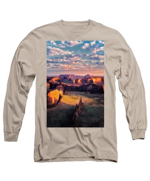 Desert Glow   Long Sleeve T-Shirt by Nicki Frates