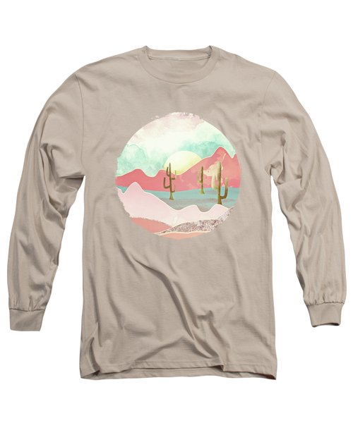 Desert Mountains Long Sleeve T-Shirt by Spacefrog Designs