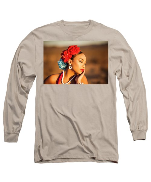 Desert Pearl Long Sleeve T-Shirt