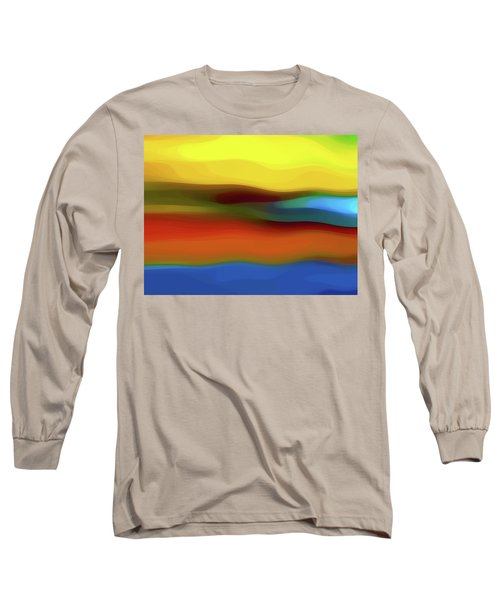 Desert River Landscape Long Sleeve T-Shirt