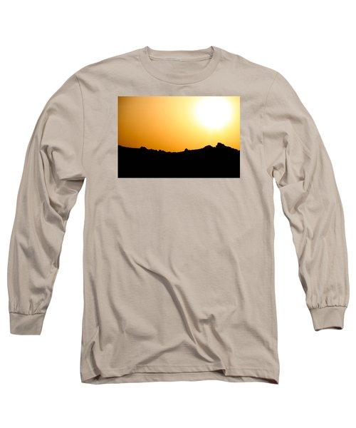 Desert Strength  Long Sleeve T-Shirt by Jez C Self