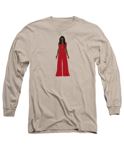 Long Sleeve T-Shirt featuring the digital art Destiny by Nancy Levan