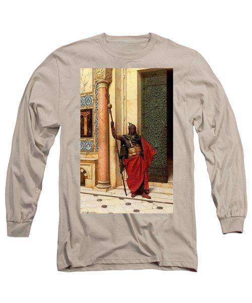 Deutsch Ludwig A Nubian Guard Long Sleeve T-Shirt