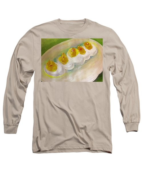 Devilled Eggs Long Sleeve T-Shirt