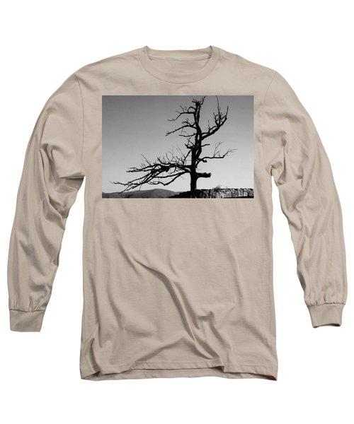 Devoid Of Life Tree Long Sleeve T-Shirt