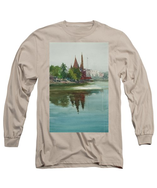 Dhanmondi Lake 04 Long Sleeve T-Shirt by Helal Uddin