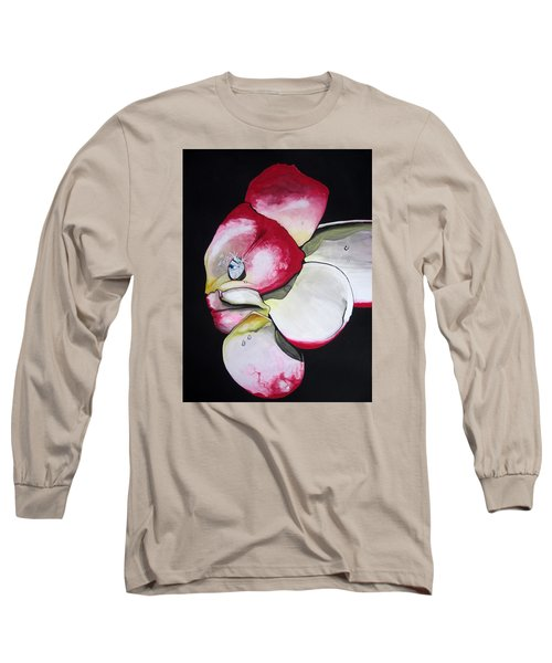 Diamond Long Sleeve T-Shirt by Mary Ellen Frazee