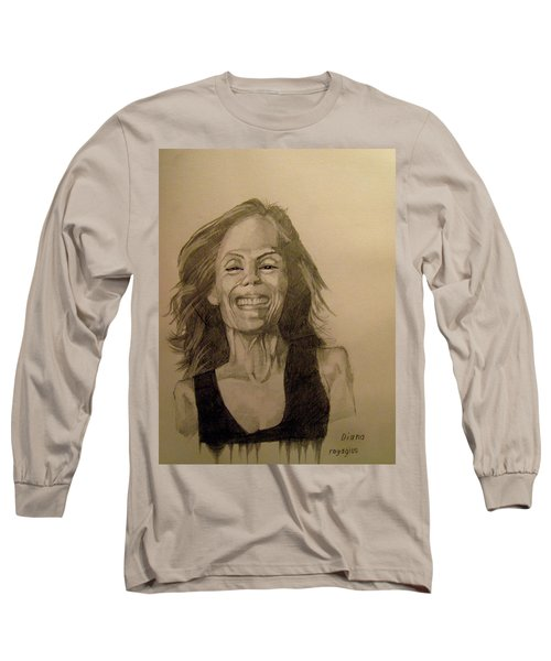 Long Sleeve T-Shirt featuring the painting Diana by Ray Agius