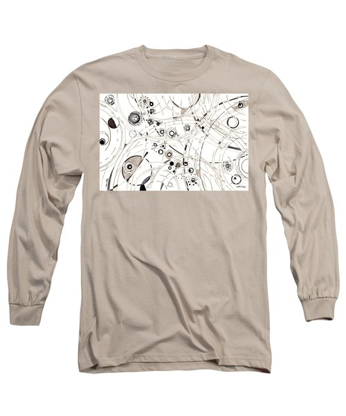 Diffracting Around Long Sleeve T-Shirt