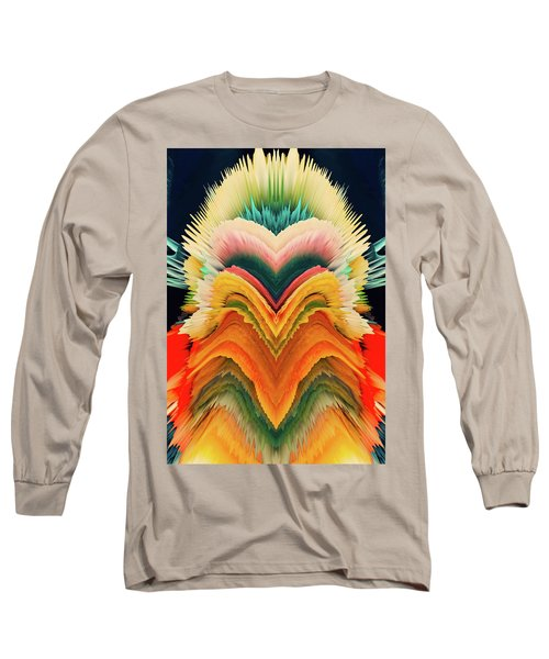 Long Sleeve T-Shirt featuring the photograph Vivid Eruption by Colleen Taylor