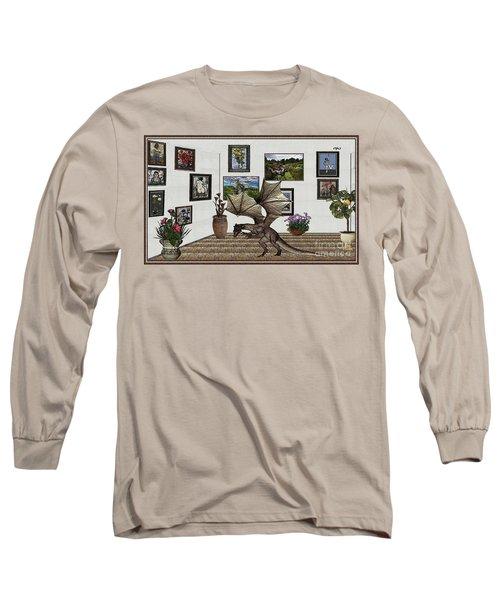 Digital Exhibition _ Dragon Long Sleeve T-Shirt