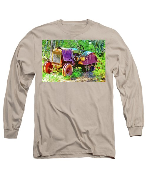 Dilapidated Tractor Long Sleeve T-Shirt