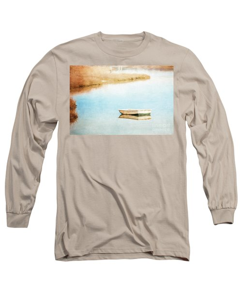 Dinghy In Eastham Long Sleeve T-Shirt