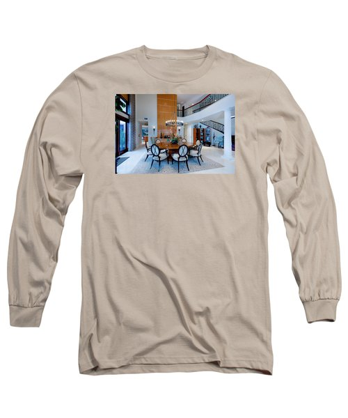 Dining In The Round Long Sleeve T-Shirt