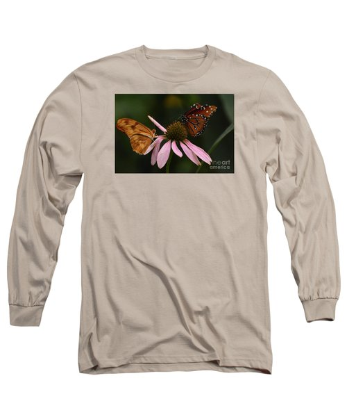 Dinner Date Long Sleeve T-Shirt by Cindy Manero