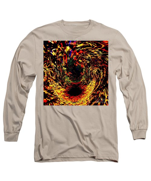Disable Abstract Planet Long Sleeve T-Shirt