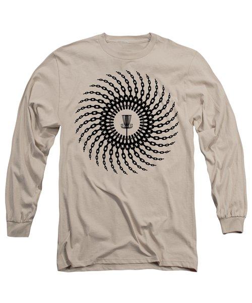 Disc Golf Basket Chains Long Sleeve T-Shirt