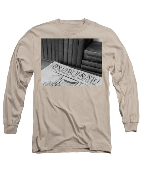 Discover Toronto Long Sleeve T-Shirt