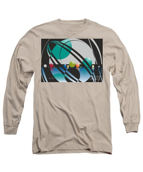Discovered Thoughs Long Sleeve T-Shirt by Leo Symon