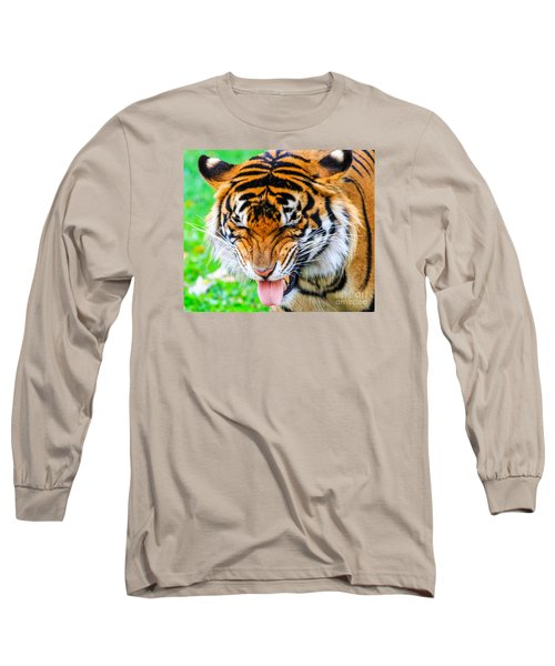 Disgusted Tiger Long Sleeve T-Shirt
