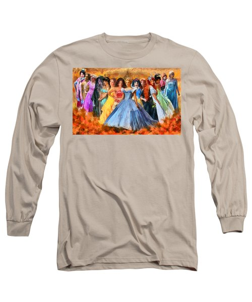 Disney's Princesses Long Sleeve T-Shirt