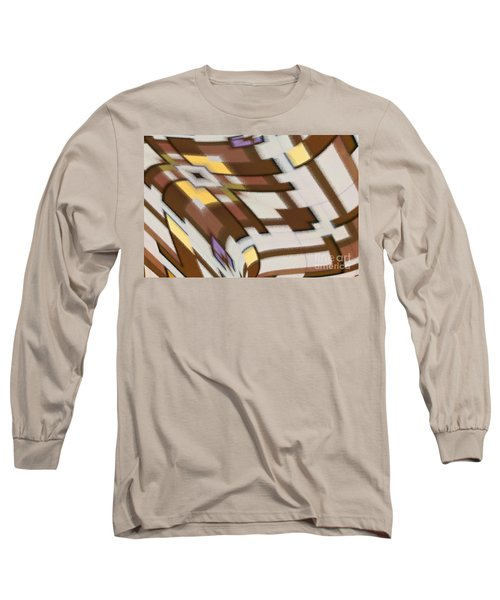 Long Sleeve T-Shirt featuring the digital art Distortion by Wendy Wilton