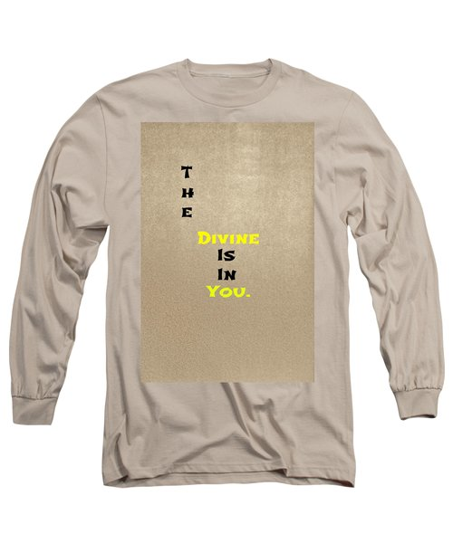Divine #3 Long Sleeve T-Shirt