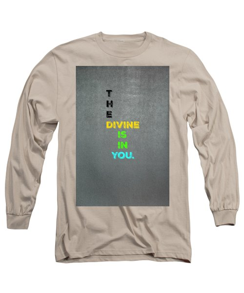 Divine #4 Long Sleeve T-Shirt