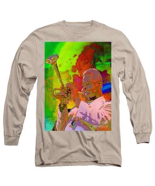 Dizzy Long Sleeve T-Shirt by Mojo Mendiola