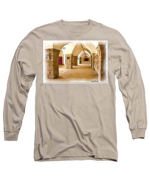 Do-00324 Beiteddine Gallery Long Sleeve T-Shirt