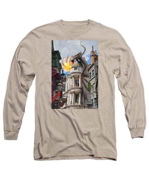 Do Not Enter Long Sleeve T-Shirt by Nikki McInnes