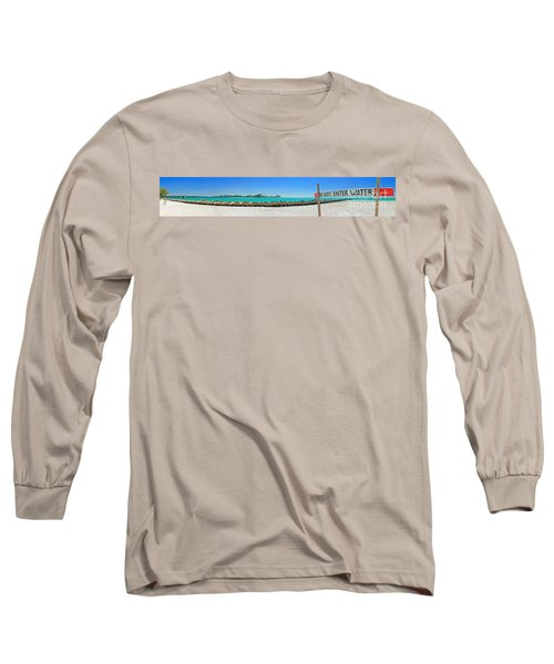 Do Not Enter Water Long Sleeve T-Shirt