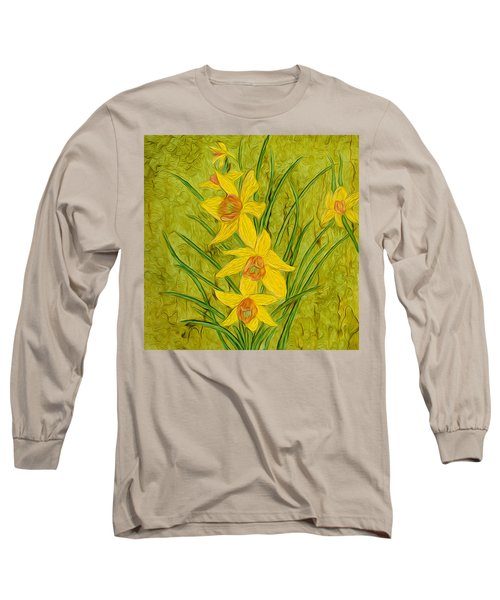 Daffodils Too Long Sleeve T-Shirt