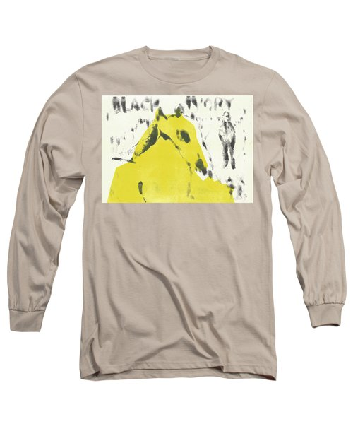 Dog At The Beach - Black Ivory 2 Long Sleeve T-Shirt