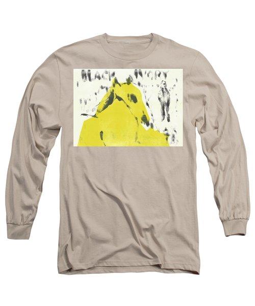 Dog At The Beach - Black Ivory 2 Long Sleeve T-Shirt