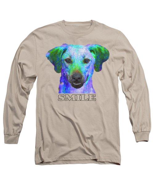 Doggy Smile Long Sleeve T-Shirt
