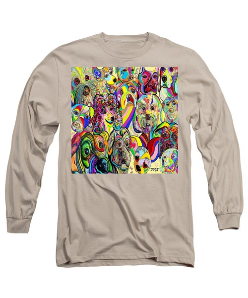 Dogs Dogs Dogs Long Sleeve T-Shirt