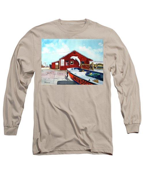Dolphin Dock II Long Sleeve T-Shirt