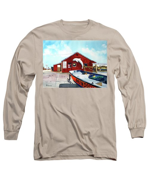 Dolphin Dock II Long Sleeve T-Shirt