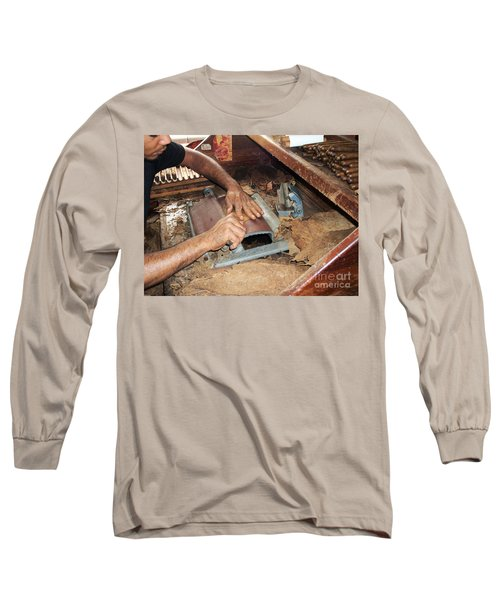 Dominican Cigars Made By Hand Long Sleeve T-Shirt