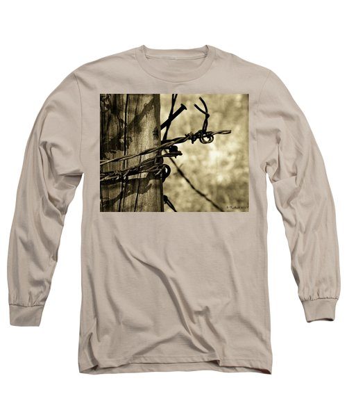 Don't Fence Me In 2 Long Sleeve T-Shirt
