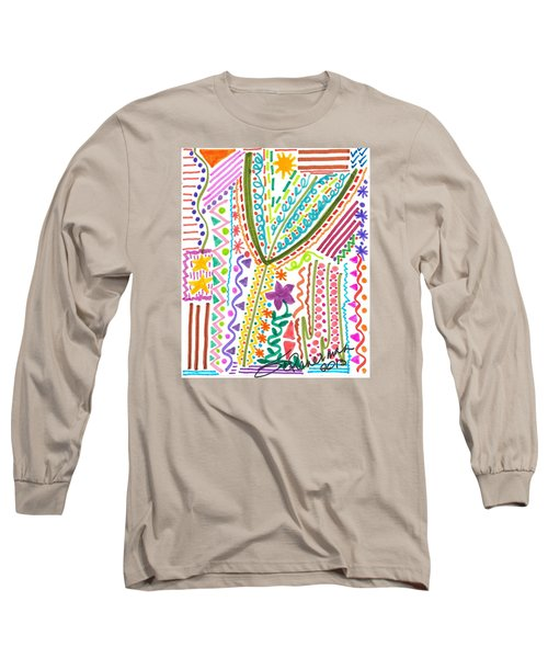 Doodles Gone Wild Long Sleeve T-Shirt